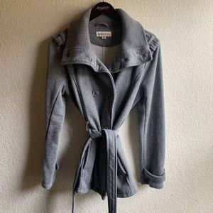 Med Merona Sweatshirt Trench Jacket